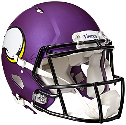 Image Unavailable. Image not available for. Color  NFL Minnesota Vikings  Speed Authentic Helmet 6af632204