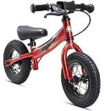 """BIKESTAR Bicicleta sin pedales para niños ★ 10 pulgadas ★ Color Rojo ★ A partir de 2-3 años ★ 10"""" Sport Edition 2018"""