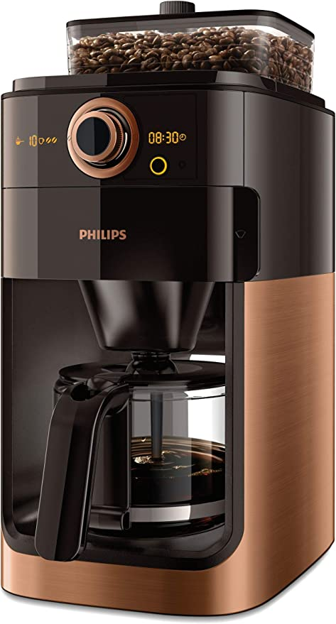 Philips Grind & Brew HD7768/70 - Cafetera (Independiente, Cafetera ...