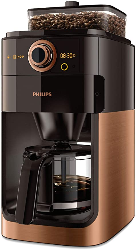 Philips Grind & Brew HD7768/70 - Cafetera (Independiente ...