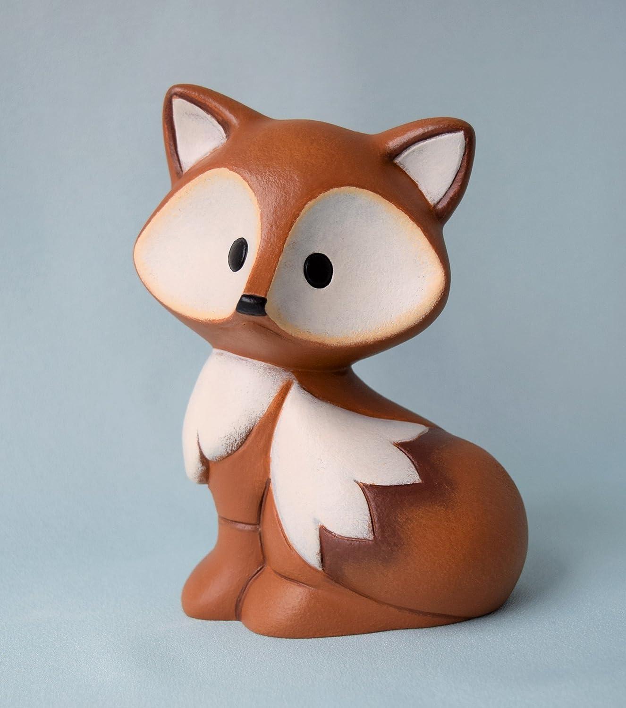 Ceramic Fox Baby Figurine