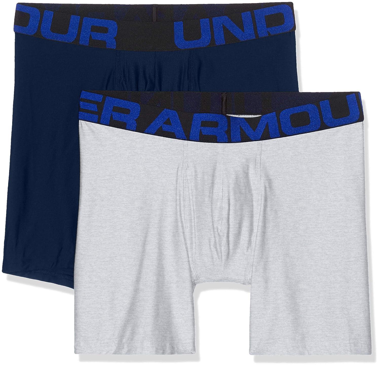 Under Armour Herren Unterhosen Tech Boxerjock komfortable Unterw/äsche mit enganliegendem Schnitt 15 cm schnelltrocknende Boxershorts 2er Pack