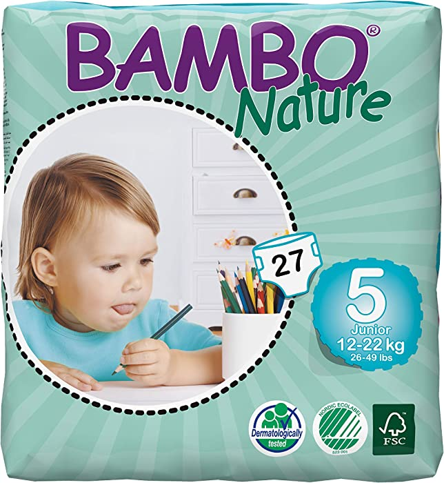 The Best Bambo Nature Size 5 Diapers