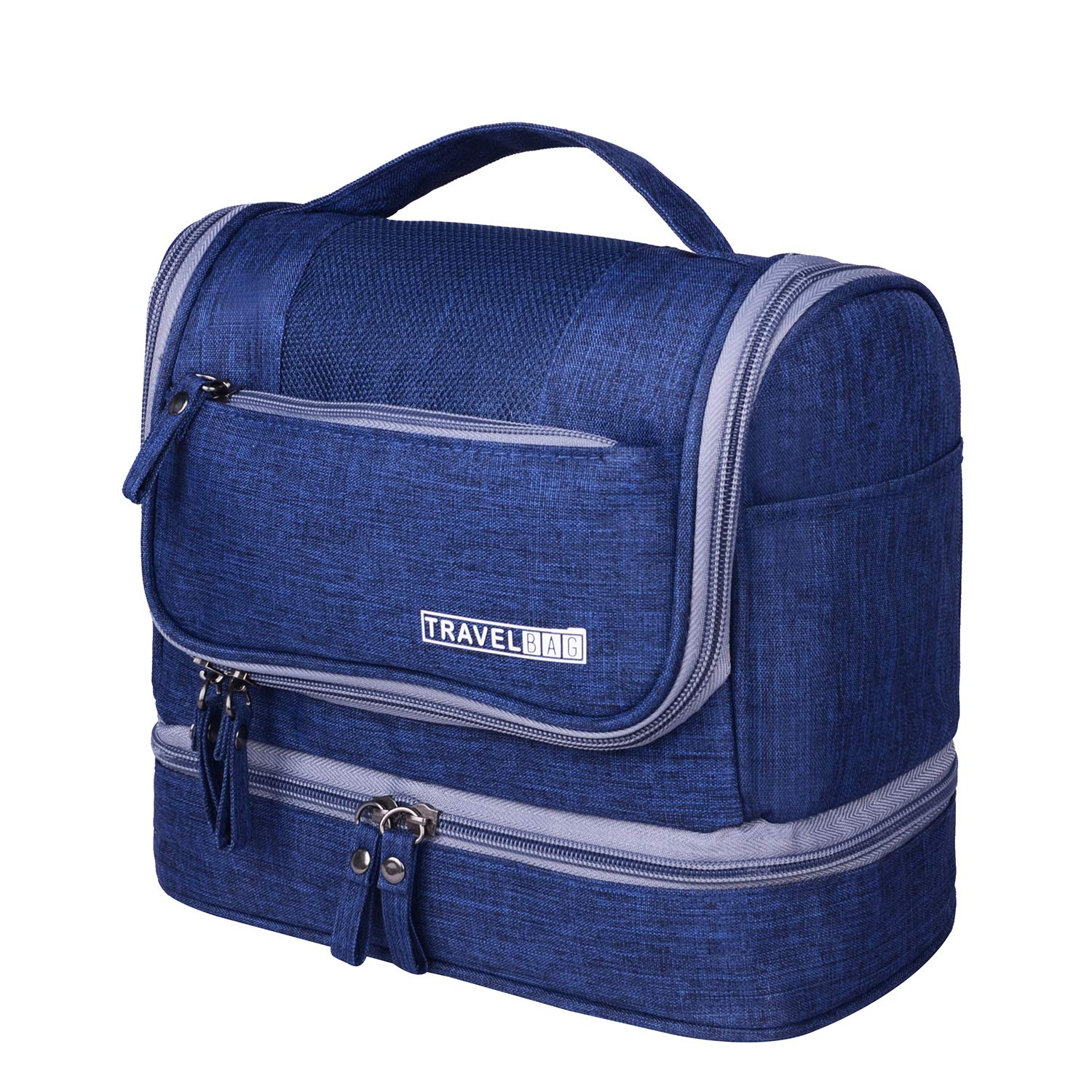 691be75744 Amazon.com   Hanging Travel Toiletry Bag for Women and Men