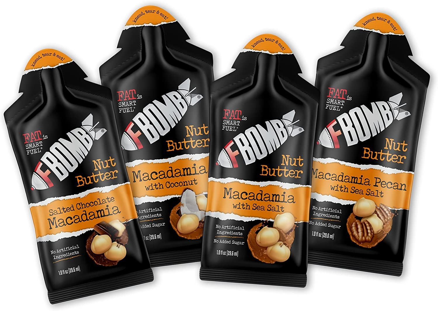 FBOMB Nut Butter 16 Variety Pack Image