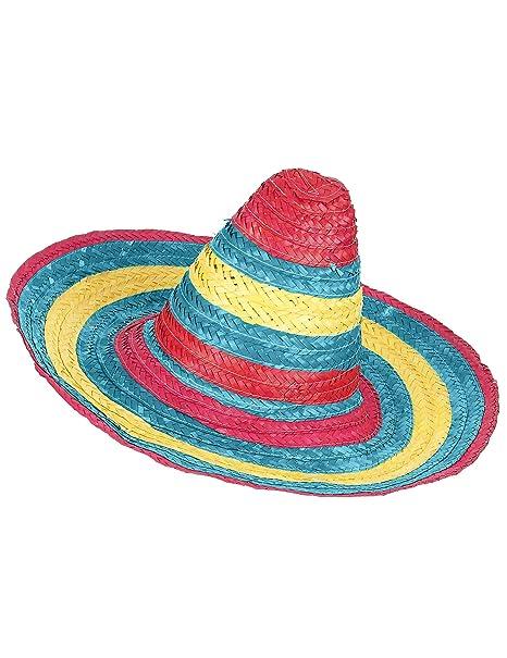 5850530080463 Sombrero mexicano rojo