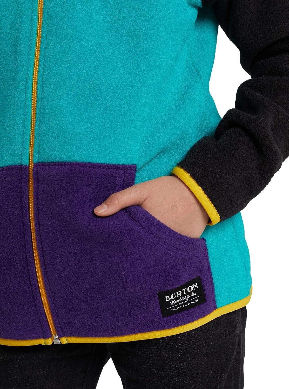 Burton Unisex-Child Spark Fleece Hooded Full Zip