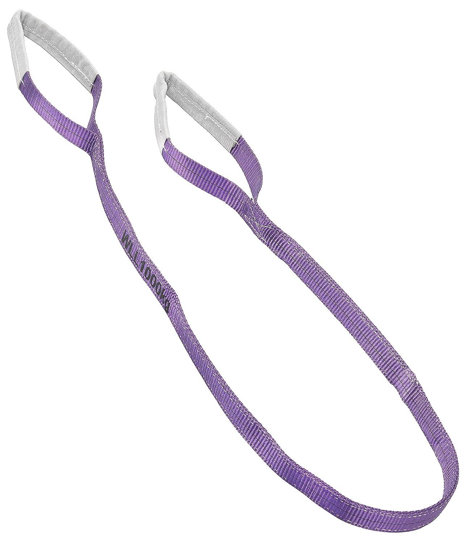 CON:P B34440 - Correa de carga (1000 kg, 2 m) color violeta