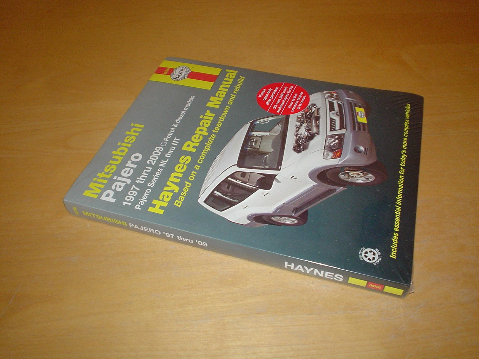 Pajero Workshop Manual 2009 Wiring Diagram Daihatsu Luxio Array Haynes Mitsubishi Shogun Owners Handbook 97 09 3 0 Rh Amazon Co