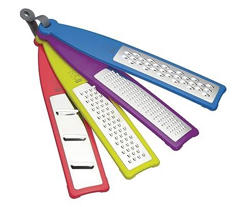 Amazon.com: Colourworks – Handheld Ralladores, Conjunto de 4 ...