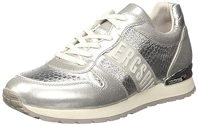 Bikkembergs Kate 852, Zapatillas de Estar por Casa para Mujer, Plateado (Silver 500), 41 EU