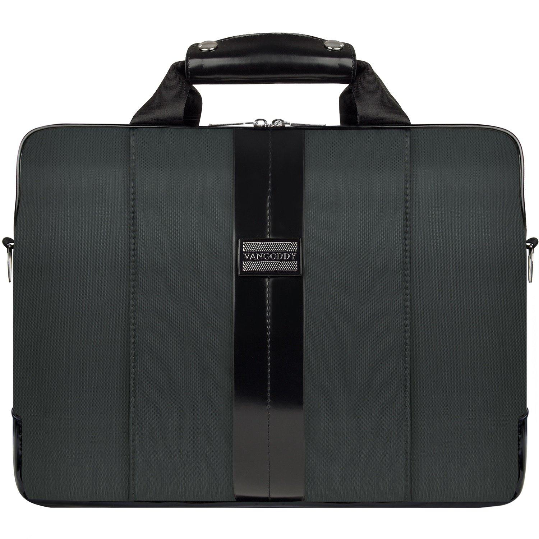 245be634c02e VanGoddy Melissa Briefcase Bag 15.6 Inch Spacious Laptop Messenger Bag  Business Office Bag for Men Women