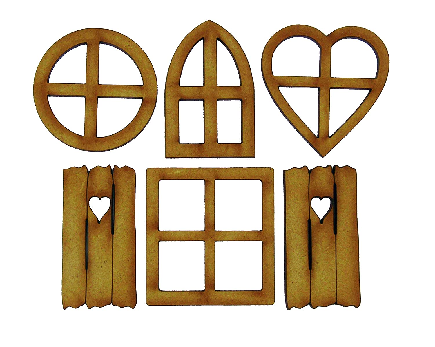 Fairy Window Craft Kit - Mixed Pack of Fairy Door Accessories Alchemy Engraving