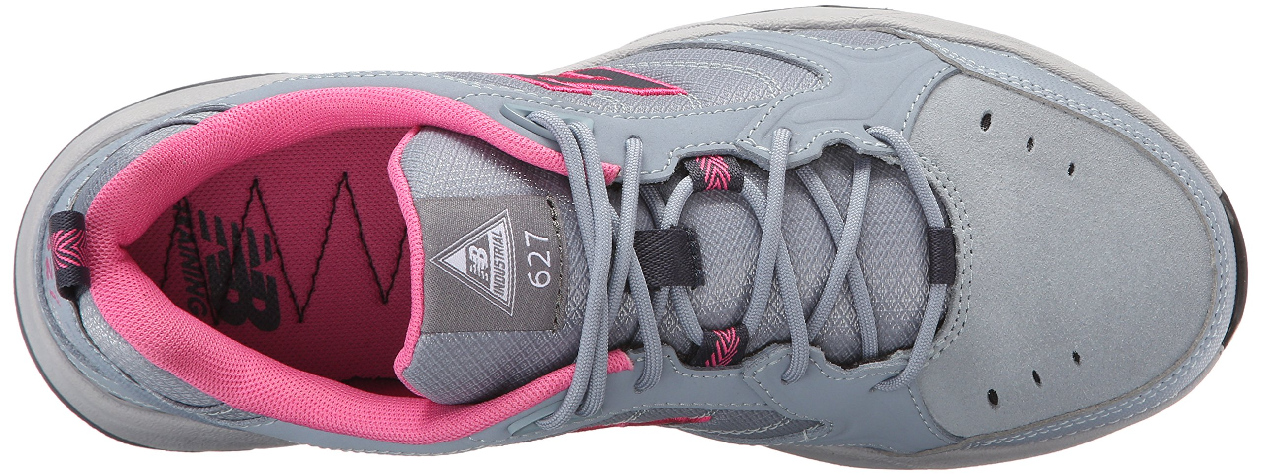 New Balance Women's WID627V1 Steel Toe Training Work Shoe,Light Grey/Pink,8 B US by New Balance (Image #8)
