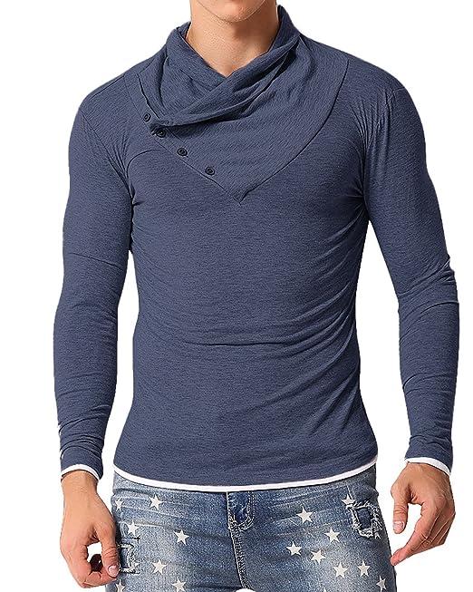Favoridol - Camiseta de manga larga - para hombre XZkmaUdsXN