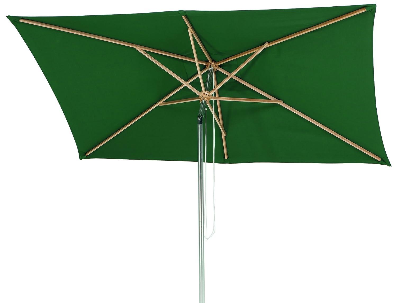 sonnenschirm grün rechteckig