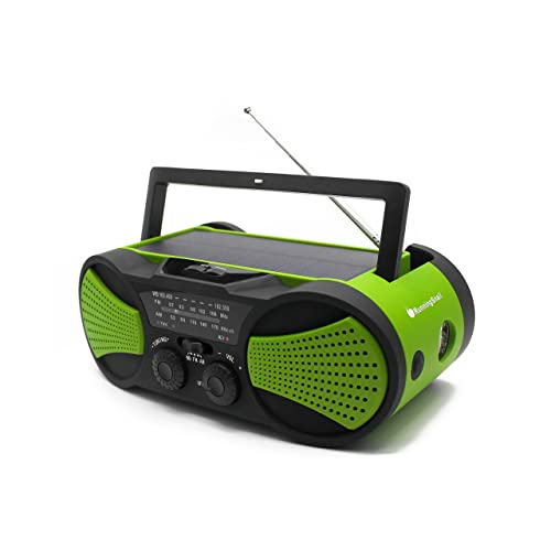 Solar and Battery Powered Radio: Amazon.com