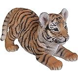 Vivid Arts cachorro de tigre juguetón, adorno de resina
