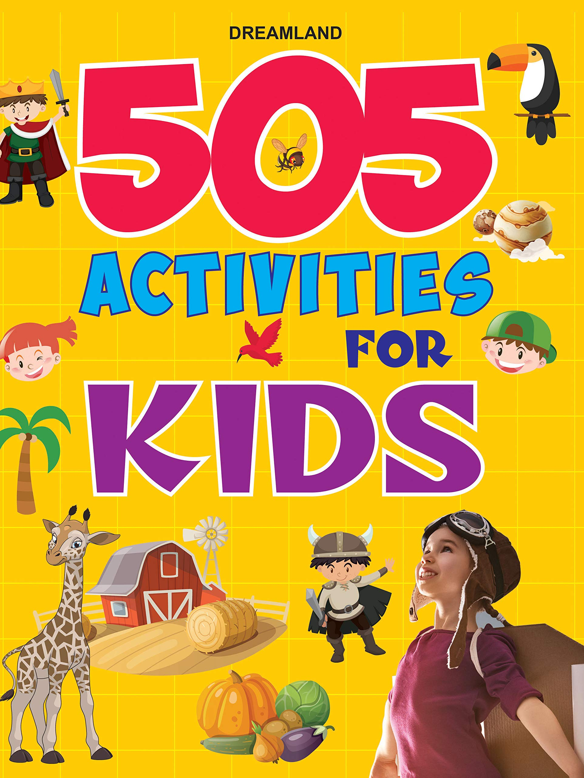 505 Activities for Kids Paperback – 1 January 2021