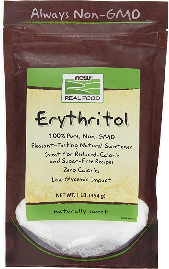 Erythritol (454g) - Now Real Food por Now Foods