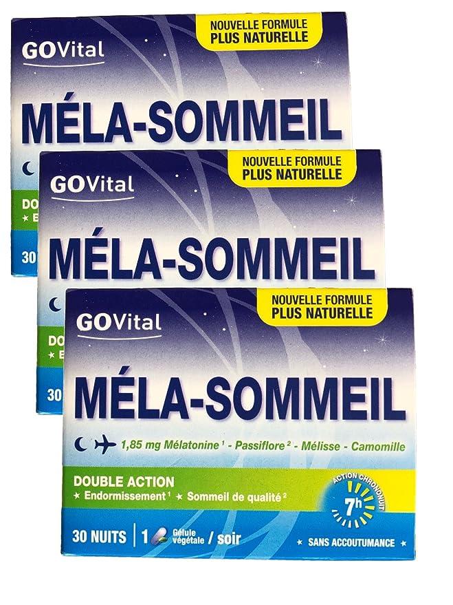 Govital - 3 meses - mela-sommeil doble acción ...
