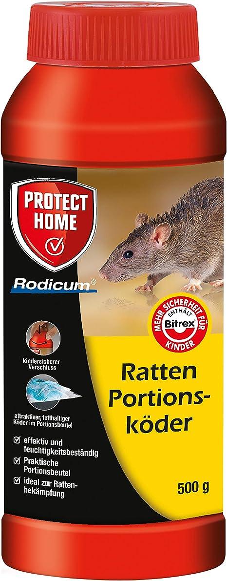 Protect Home Rodicum Ratten Portionskoder 500g Vorportionierte Rattenkoder 500 G Amazon De Garten