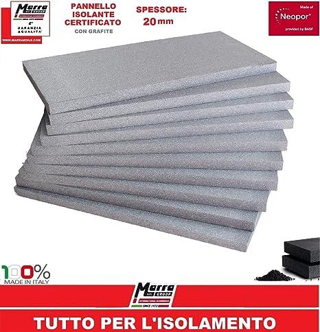 Dettagli su 10 Pannelli in polistirolo sp. 4 cm. EPS 100 per isolamento termico acustico