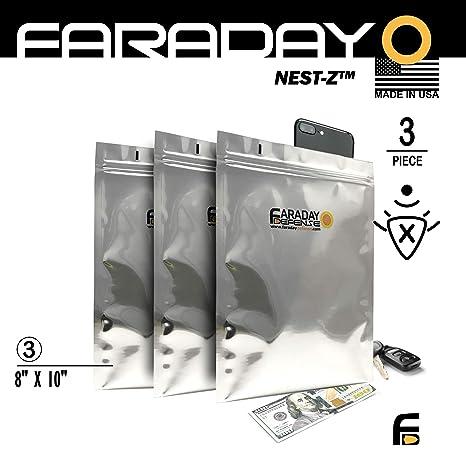 Jaula de Faraday Emp/ESD bolsas Premium (8 x 10 grueso y pesado ...