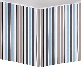 product image for Glenna Jean Luna Mini Crib Skirt, Blue, Mini