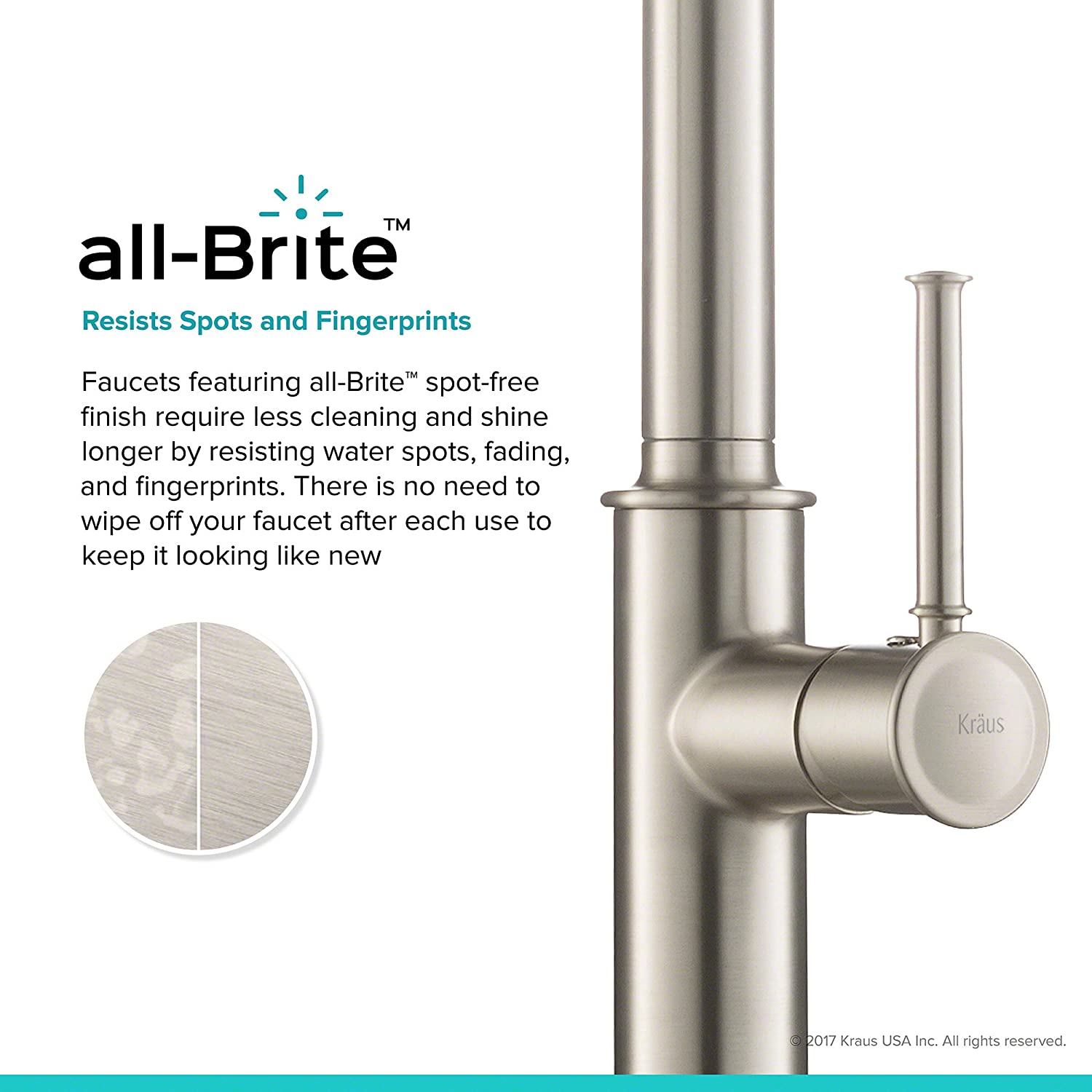 Kraus Kpf 1680sfs Sellette Single Handle Pull Down Kitchen Faucet Parts Diagram For Gourmet 150 450 With Dual Function Sprayhead All Brite Spot Free Stainless Steel Finish Amazon