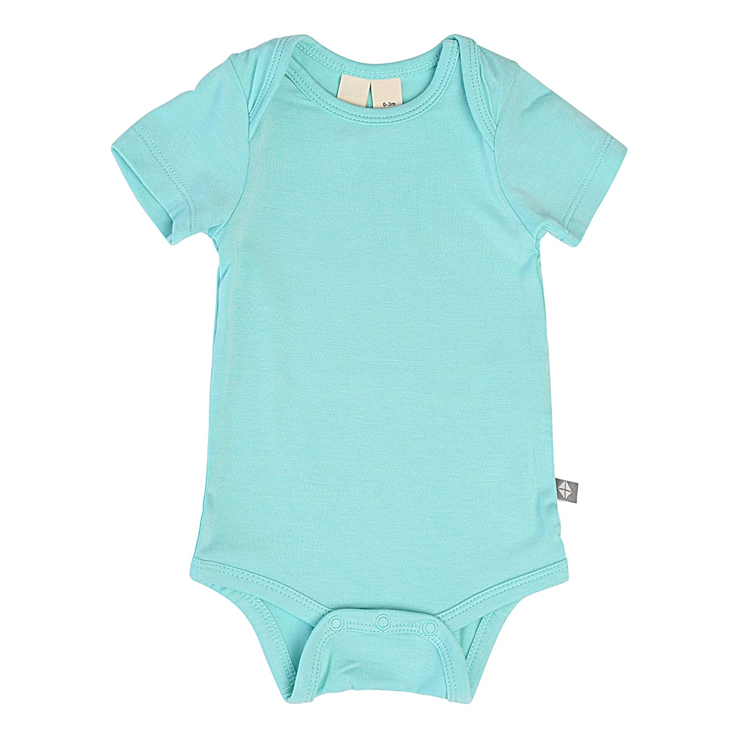 KYTE BABY Bodysuit Short Sleeve Baby Bodysuits Made from Organic Bamboo Rayon Material Unisex Bodysuits