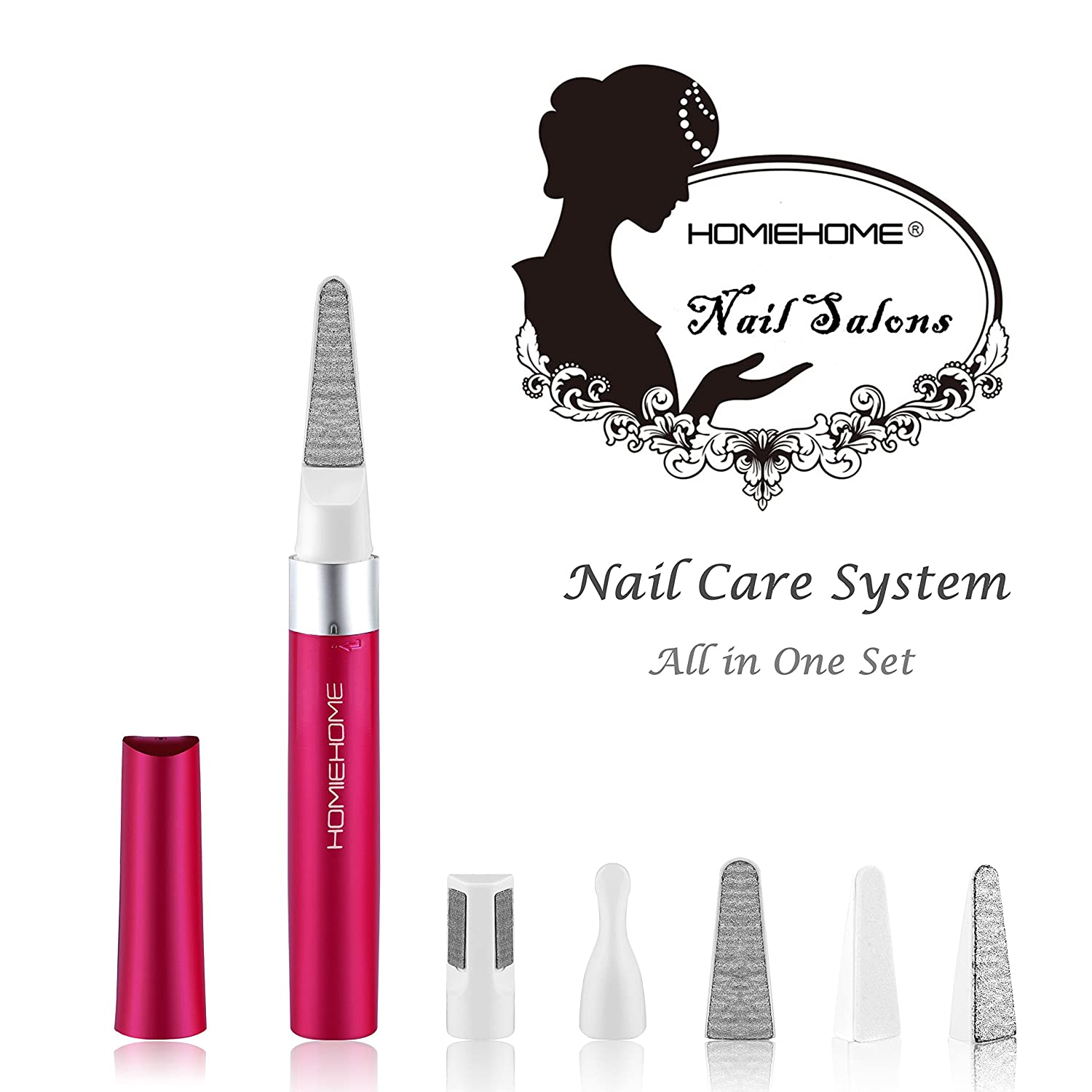 Amazon.com: HOMIEHOME Electric Nail File Care System-Professional ...