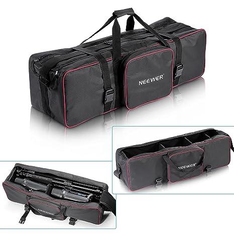 41f5071035 Neewer - Borsa grande per trasporto materiale di illuminazione per studio  fotografico