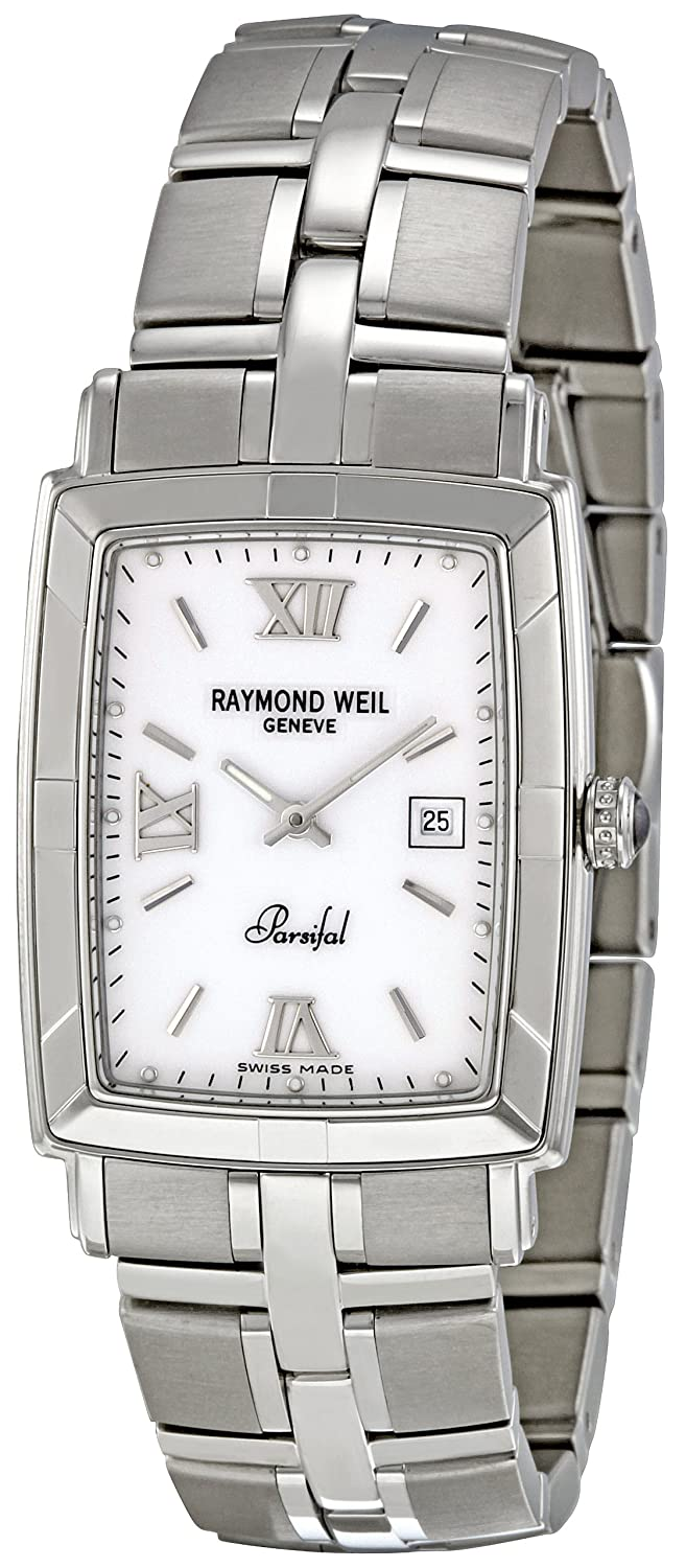 Raymond Weil Men s 9341-ST-00307 Parsifal White Dial Watch