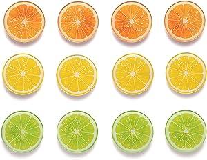 Fridge Magnets Refrigerator Magnets (12 Orange)