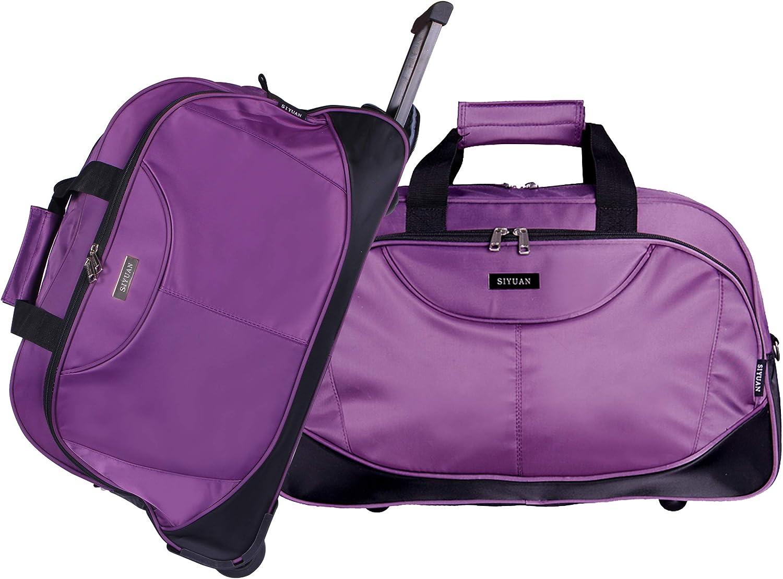 Lightweight Large Capacity Portable Duffel Bag for Men /& Women Purple Brains Travel Duffel Bag Backpack JTRVW Luggage Bags for Travel