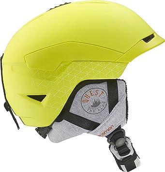 Salomon Quest Access Casco de esquí, Unisex Adulto, Verde, S
