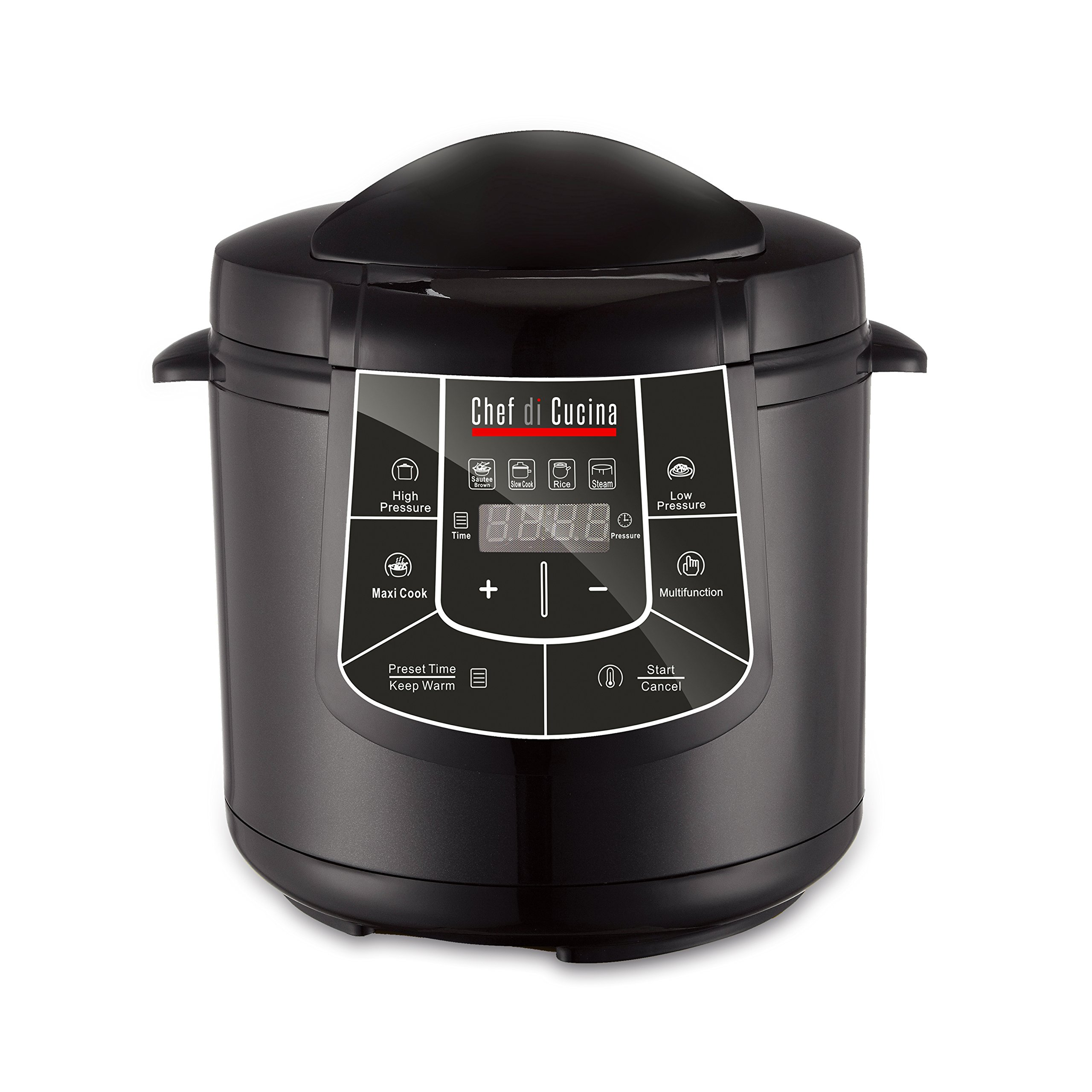 Chef Di Cucina CC600 Multi Cooker,, Black
