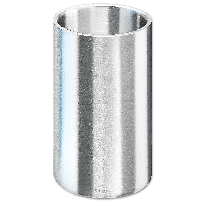 amazoncom isosteel va wine cooler ice bucket double wall  - amazoncom isosteel va wine cooler ice bucket double wall stainless steel with matt brushed surface  bpa free home  kitchen