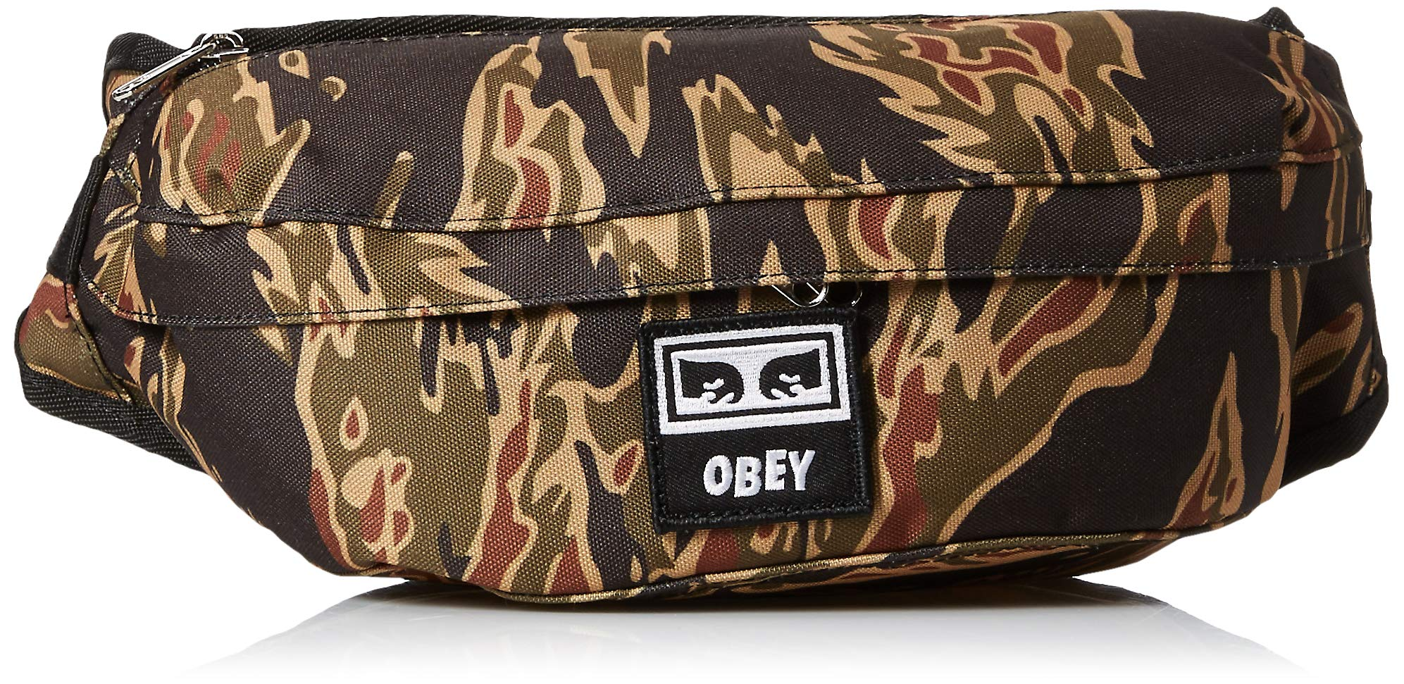 OBEY Men's Drop Out Sling Pack, tiger camo, ONE SIZE