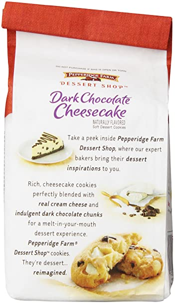 Pepperidge Farm - Galletas de chocolate y tarta de queso: Amazon.es: Alimentación y bebidas