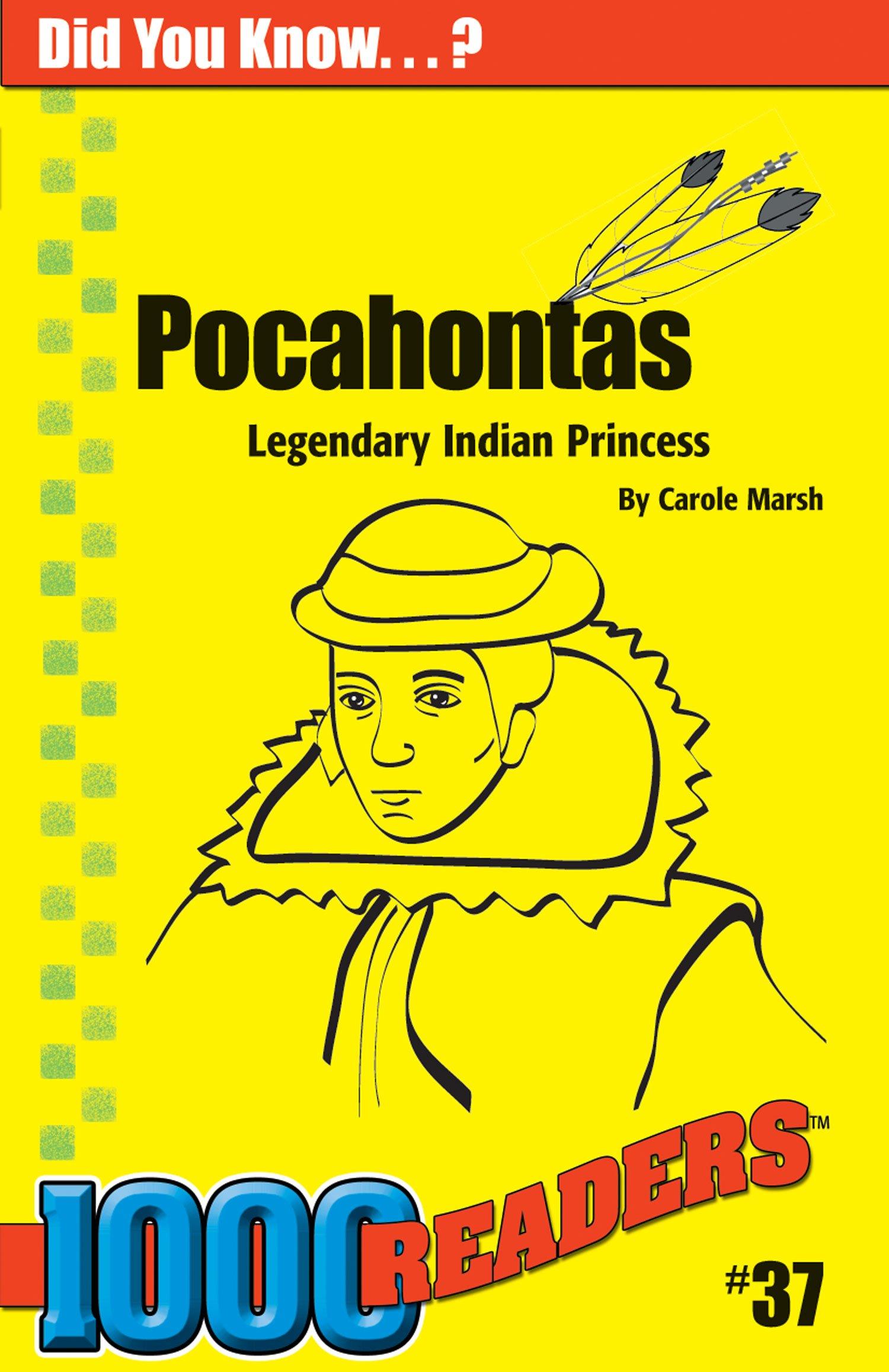 Download Pocahontas: Legendary Indian Princess (37) (1000 Readers) PDF