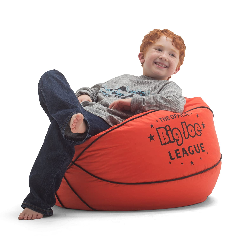 Amazon fort Research Big Joe Basketball Bean Bag with