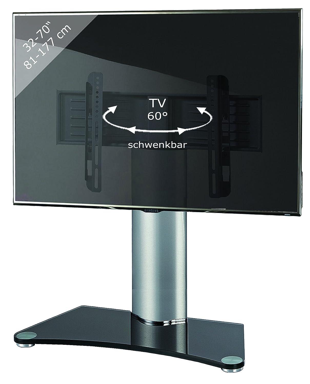 VCM TV Standfuß Tischfuß Fernseh Aufsatz Fuß Erhöhung schwenkbar ...