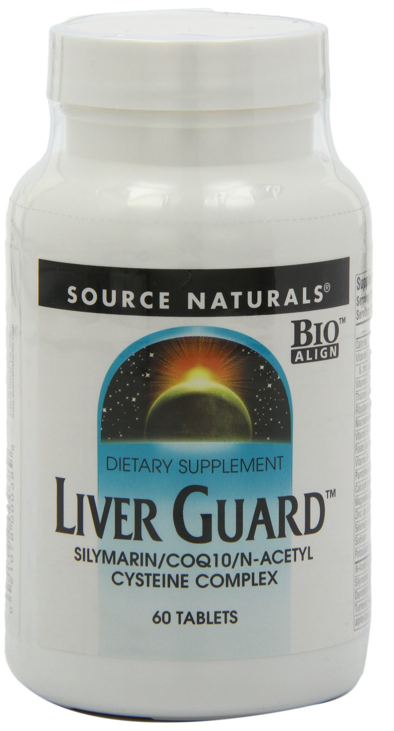 Source Naturals Liver Guard - Silymarin, CoQ10, N-Acetyl Cysteine Complex - 60 Tablets by Source Naturals