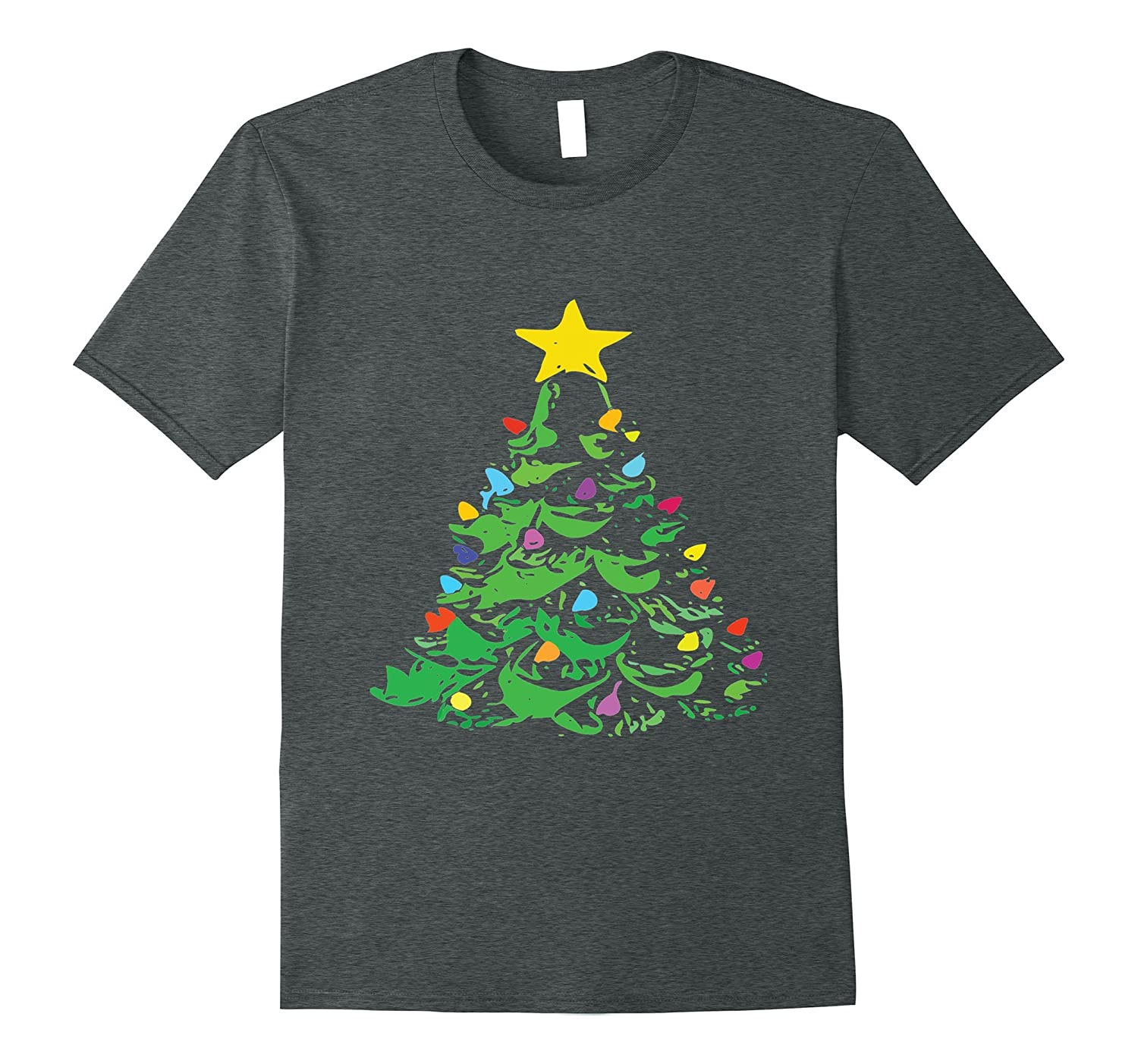 Retro Vintage Ceramic Christmas Tree Shirt Anz