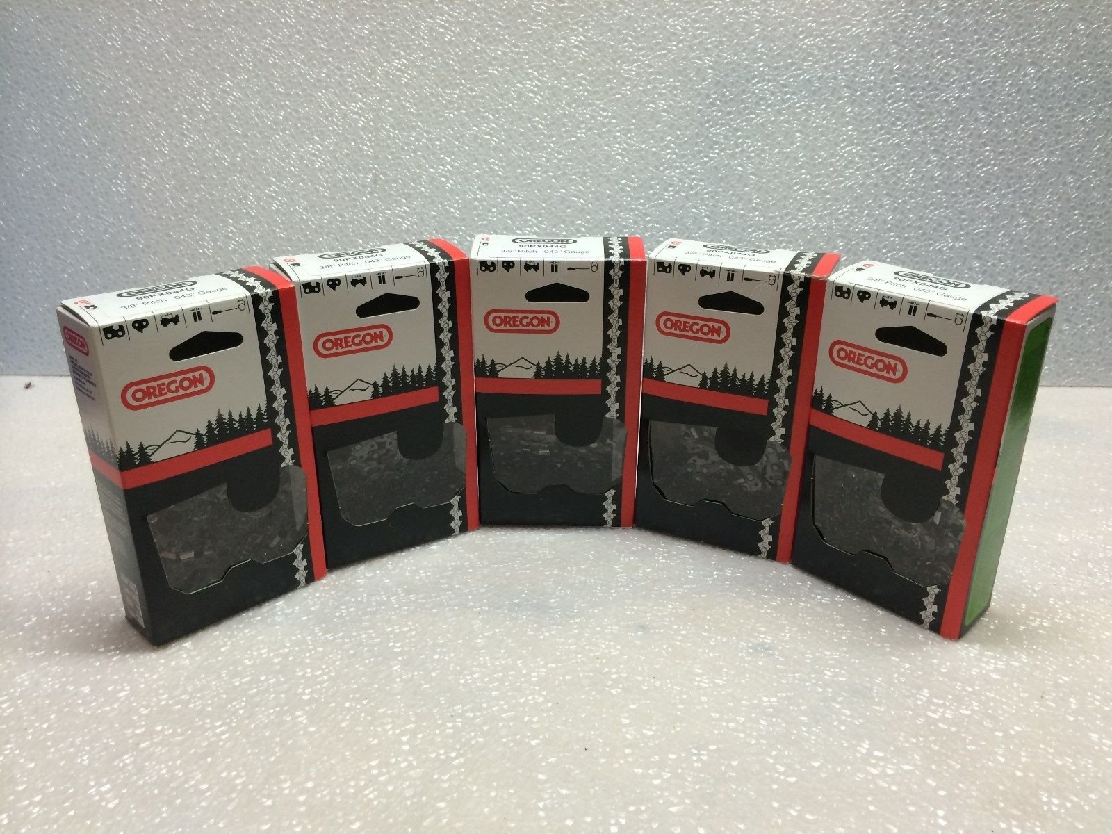 (Ship from USA) 5 Pack NEW Oregon 20LPX072G Chainsaw Chain 18'' .325 .050 72 DL /ITEM NO#8Y-IFW81854208236