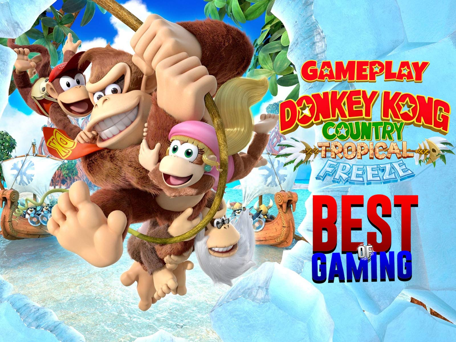 Watch Clip Donkey Kong Country Tropical Freeze Gameplay Best Of
