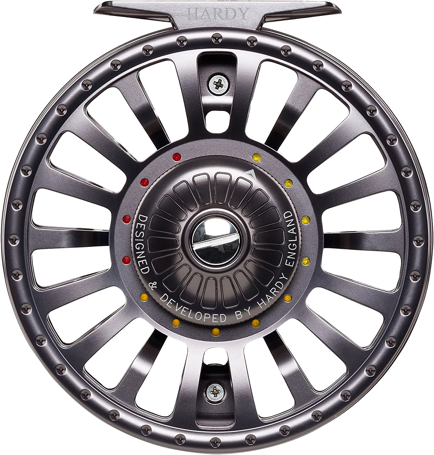 2. Hardy Fortuna XDS Fly Reel - Best Capacity