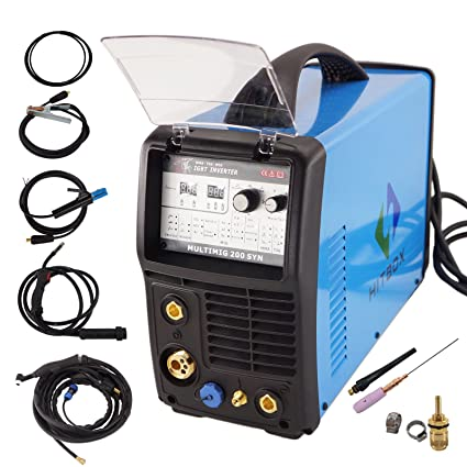 Hitbox arco Mig Tig Syn 3 en 1 inverter sudor eléctrica 220 V DC ...